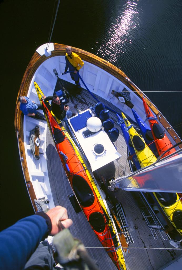 Looking Down - Alaska Sea Kayaking Adventures