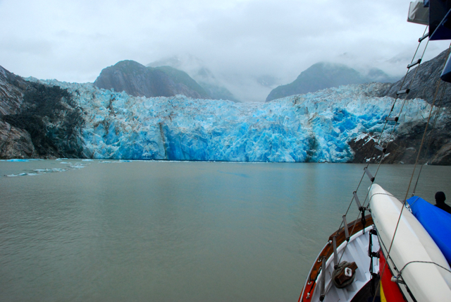 Sawyer Glacier in the Tracy Arm/Ford's Terror Wilderness Area, southeast Alaska