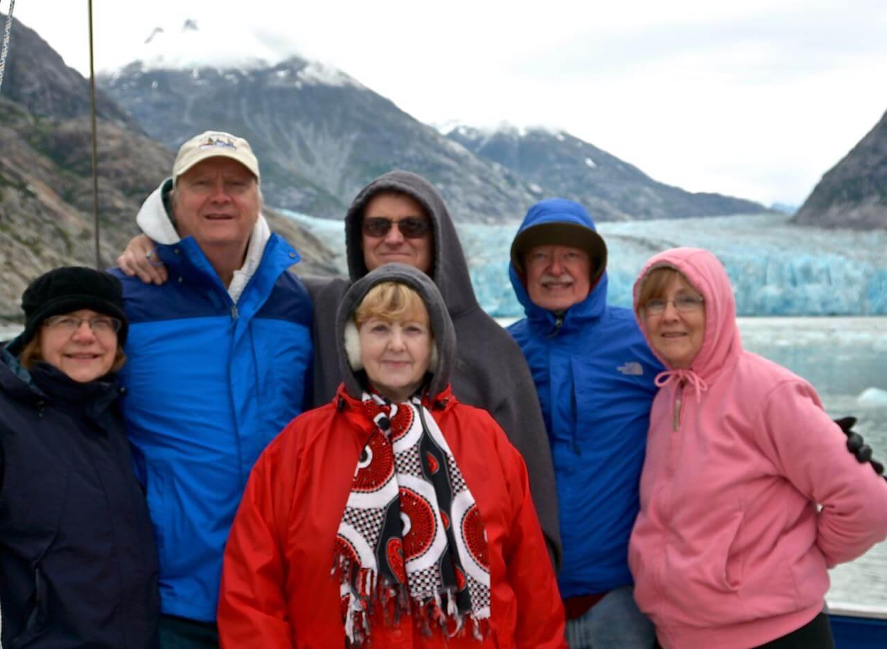 Sumdum Glacier in Tracy Arm/ Ford's Terror Wilderness Area, Alaska