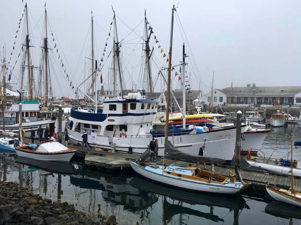 The 41st Annual Wooden Boat Festival in Port Townsend, Washington