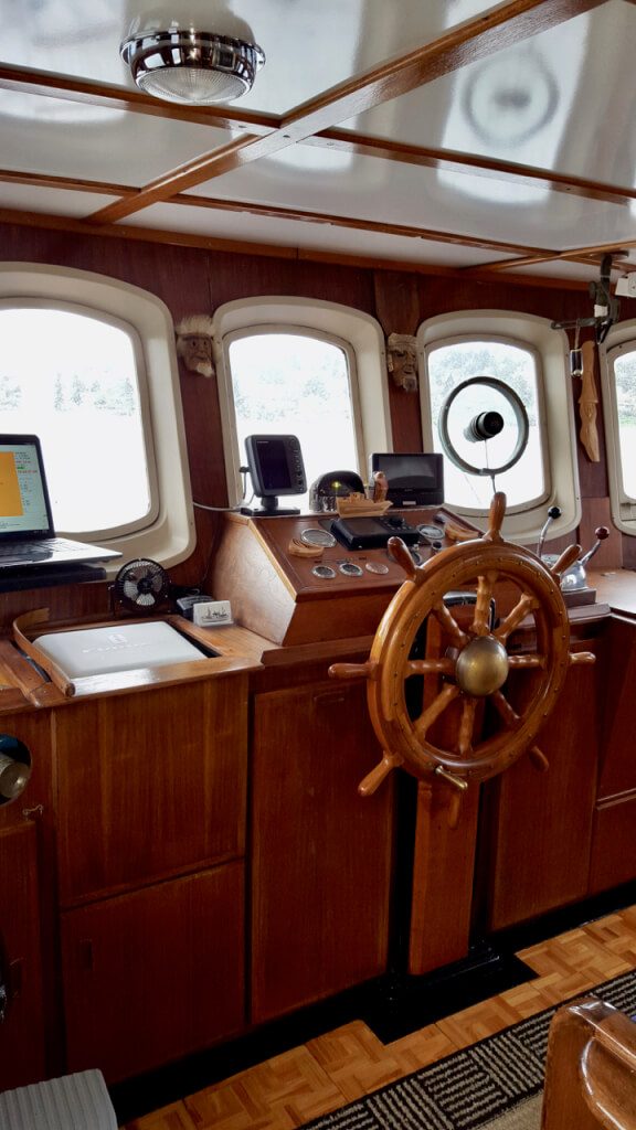The pilothouse.