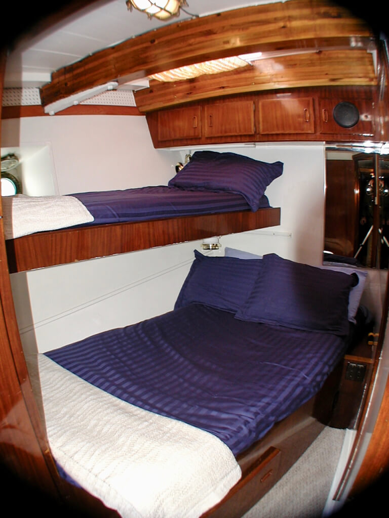 The port stateroom.