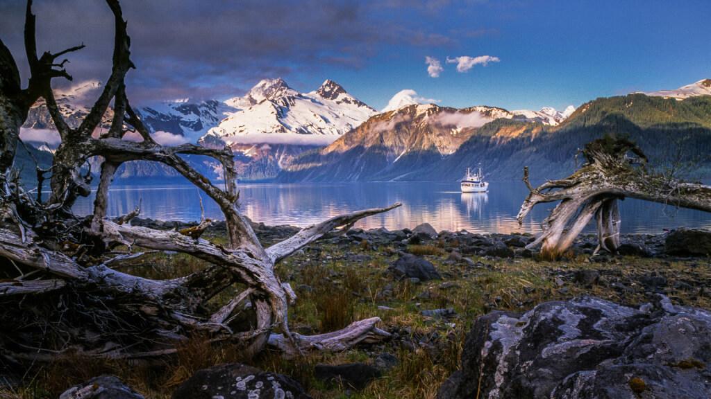 Lituya Bay, Alaska by Gary Luhm