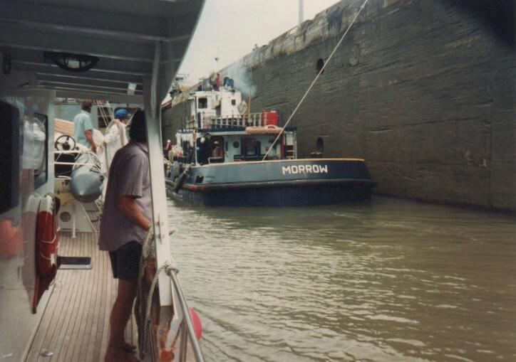 Gatun Lock, Panama Canal.